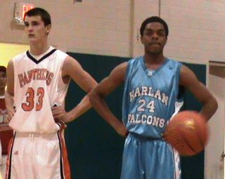 Carl Brandon of Harlan and Chris Bagley of Oswego