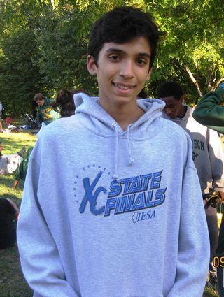 Junior Quintero of Lane Tech