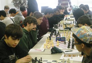 NCP plays Niles North in Chess