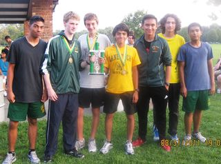 Lane Tech f-s boys 1st place