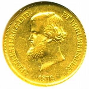 Brazil gold coin