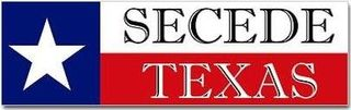 Secede Texas Bumpersticker