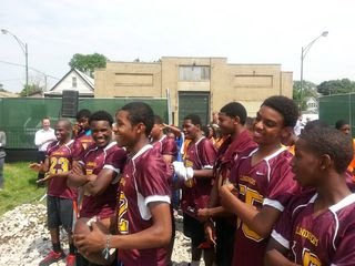 Lindblom Park Ground Breaking 2